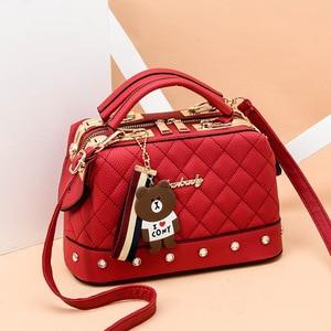 Image 3 - 2019 bolso de mujer de otoño e invierno tendencia nuevo bolso pequeño Diagonal de un solo hombro bolso femenino de moda Bolso pequeño cuadrado
