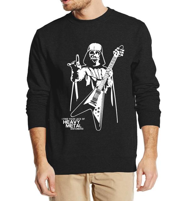 Star Wars Darth Vader hombres sudaderas 2016 estilo de otoño invierno hombre sudaderas con capucha de lana ocasional más tamaño con capucha hip hop streetwear