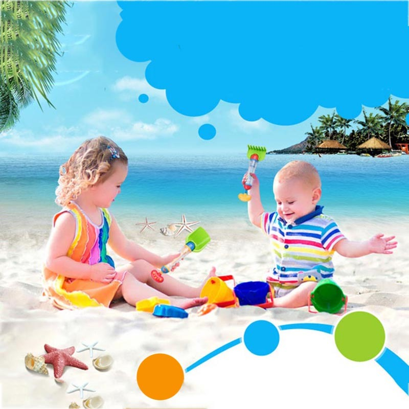 New Baby Bath Toys For Children Kids Swimming Pool Sand Set Water Beach  Toys Spraying Cannon