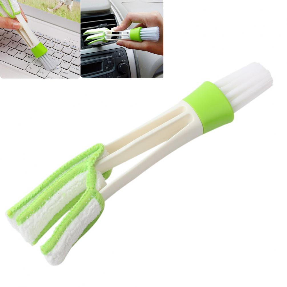 Window Blinds Brush Cleaner Mini Double Multifunction Novelty Detachable Households Keyboard Cleaning Handheld Shutters