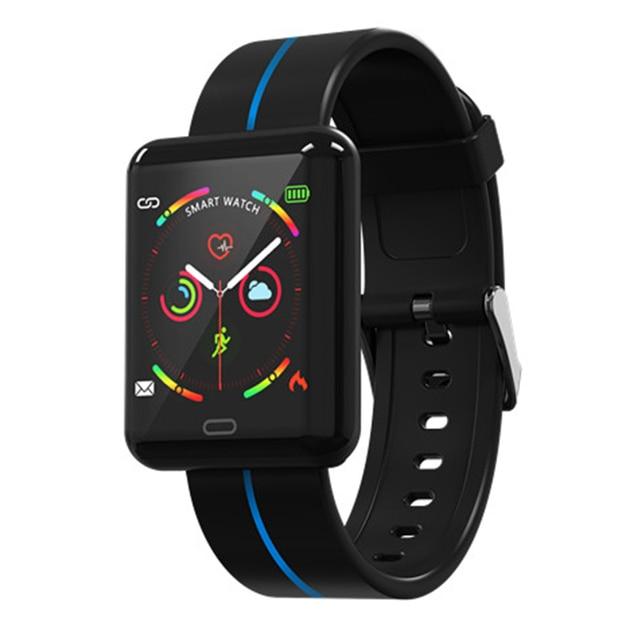 Tốt nhất Thông Minh Đồng Hồ IP67 Không Thấm Nước Bluetooth Nhịp Tim Huyết Áp Người Đàn Ông phụ nữ Smartwatch đối với Xiao mi Android IOS Điện Thoại