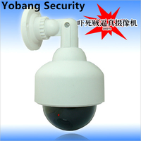 Freeship Energy Waterproof Outdoor Indoor Fake Security Camera Night Realistic Camera CCTV Surveillance Dummy Camera LED