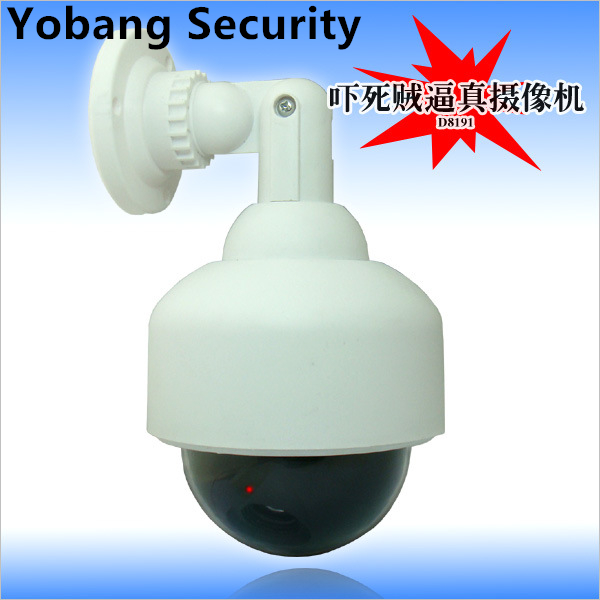 Yobang Security Waterproof Outdoor Indoor Fake Security Camera Night Realistic Camera CCTV Surveillance Dummy Camera LED Light mpow eg3 gaming headset usb 7 1 surround sound headset wired over ear headphones with mic