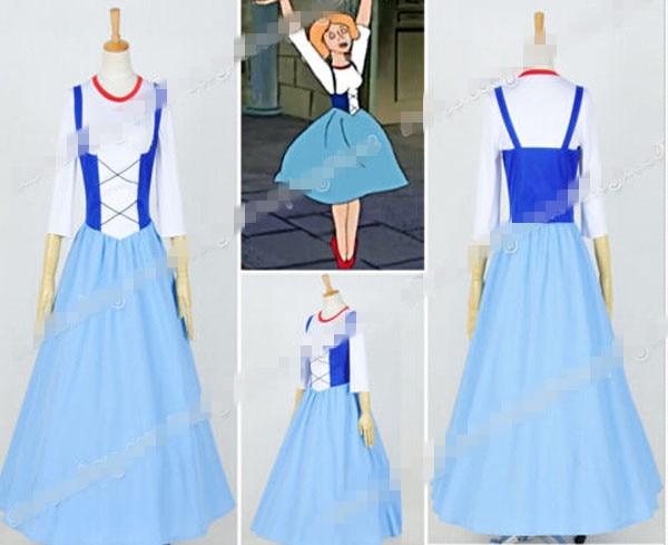 Custom Made The Little Mermaid Marina Princess Marina Ballet Dance Dress Cosplay Costume Halloween