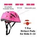 7 шт.  шлем для детей  От 3 до 12 лет  для малышей  детский велосипед  скейтборд  шлем  колено  локоть  для скутера  регулируемый  экстремальные ви...