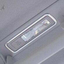 For Mercedes Benz Ml Gl Gle Gls 2pcs Aluminum Alloy Car Rear Roof Dome Lamp Reading