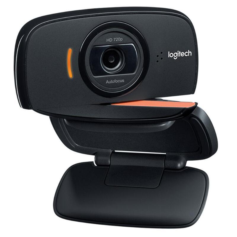 Logitech C525 HD Webcam Portable 360 rotatif 720 p 8 Mega intégré Mic vidéo mise au point automatique appelant USB Web Camer pour Windows 10/8/7