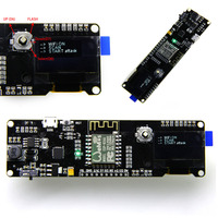 1pc ESP8266 Development Board WeMos D1 Esp Wroom 02 Motherboard 0 96 Screen Module 18650 Battery