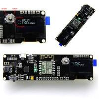 1pc ESP8266 Development Board WeMos D1 Esp Wroom 02 Motherboard 0 96 Screen Module 18650 Battery