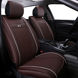 Image 3 - leather car seat cover for TOYOTA Corolla RAV4 Highlander PRADO Yaris Prius Camry front and back Complete set car cushion cover