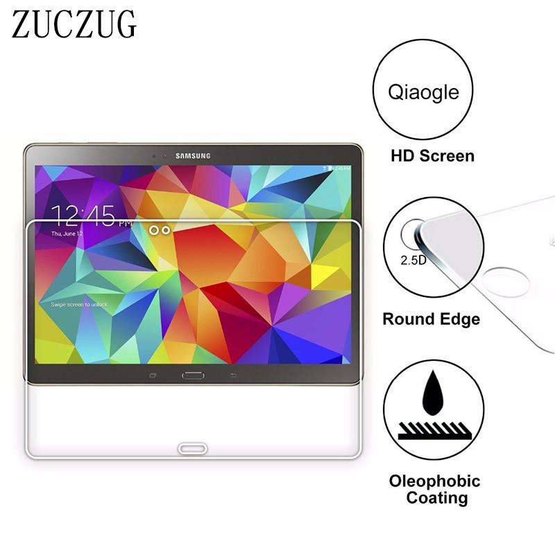 9H Explosionsgeschütztes gehärtetes Glas für Samsung Galaxy Tab S T800 T805 Displayschutzfolie für Samsung TabS 10.5 T805 T807