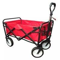 Мульти функция портативный Нержавеющая сталь + ткань Оксфорд коляска для животных 4 колеса большое пространство складная корзина для покуп