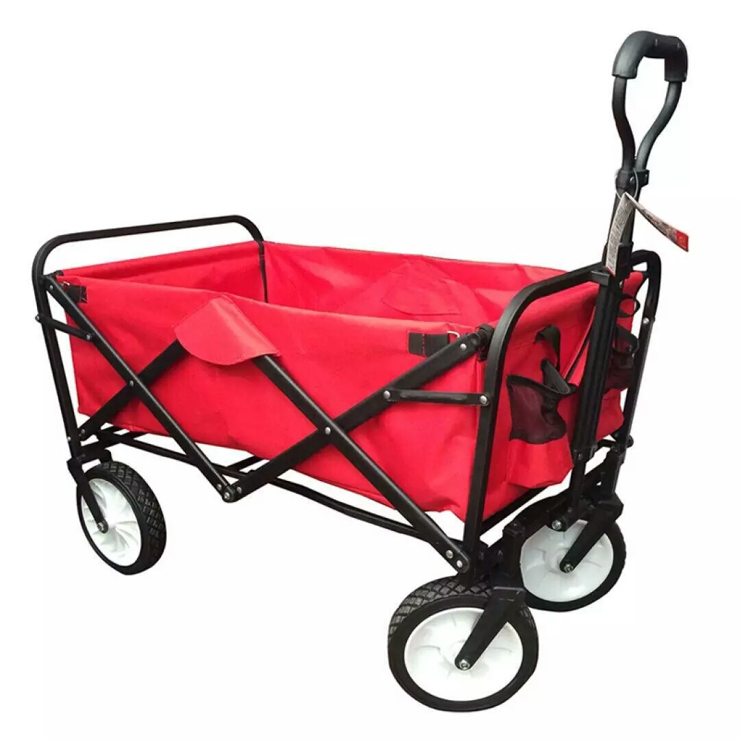 15% Многофункциональный Портативный Нержавеющаясталь + ткань Оксфорд ПЭТ Коляска 4 колеса большое пространство складная корзина для покупо...