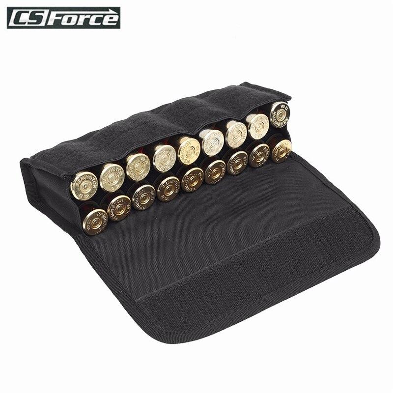 18 rond tactique porte-coque sac de munitions chasse tir militaire Molle taille sac 12/20 jauge fusil de chasse cartouches balle poche