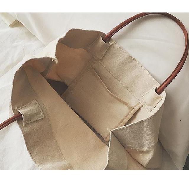 Canvas Totes Beach Bag Shoulder Bag 3