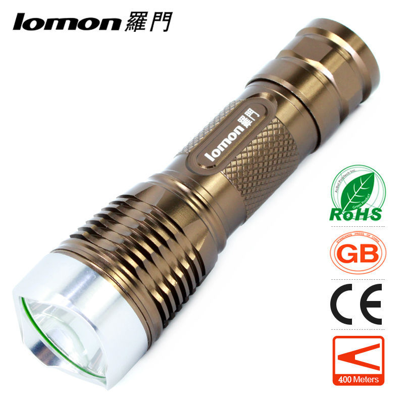 LED Flashlight CREE T6 Olight High Power 10W 18650 Rechargeable Portable Light Aluminum Alloy Torchlight Waterproof Bicycle Lamp