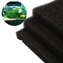 50 см x 50 см х 2 см Универсальный черный фильтрации пены аквариума биохимический фильтр губка pad легкий и мягкость Дизайн
