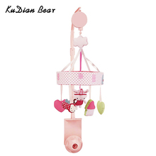 Rotating Mobile On The Bed Bell Music Baby Toys Cute Pink Rabbit Newborn Developing Rattles 0-12 Months – BYC125 PT49