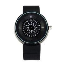 Fashion Brand Men's PU Strap Watch Men Casual Quartz Watch With 30M Waterproof Male Sports Wristwatch Black White Hot Sales