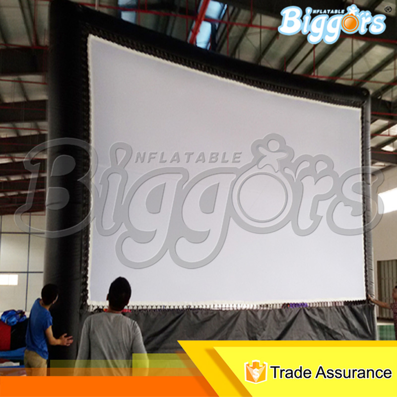 Giant Inflatable Movie Screen Outdoor Inflatable Projector Screen outdoor advertising inflatable movie screen