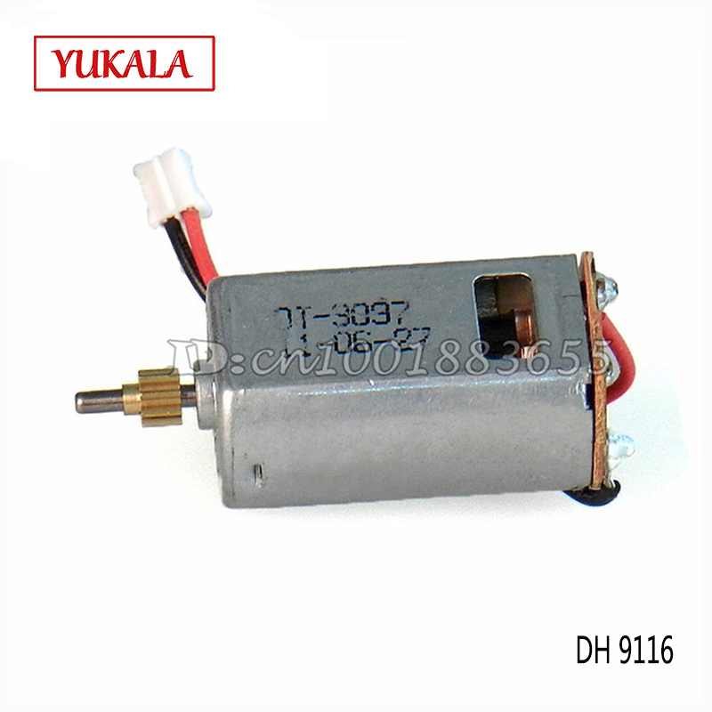 Free Shipping Wholesale/Double Horse DH 9116 Spare Parts Motor Set 9116-10 For DH9116 RC Helicopter