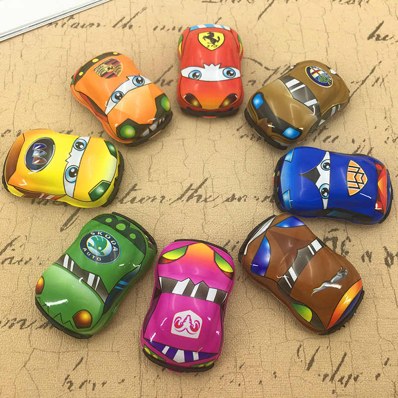Classic Children Vehicle Pull Back Racer Engineer Car Plane Motorcycle Toys Birthday Party gift for Boys girl Mini Cute Car Toys
