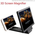 Gadget 3D Screen Magnifier Mobile Phone Video Enlarge Stand Expander Stand Holder Foldable Eye Treasure Case For Iphone Android