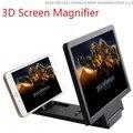 Gadget de Pantalla 3D Expander Ampliar Lupa de Vídeo Del Teléfono Móvil Soporte Del Sostenedor Del Soporte Plegable Tesoro Ojo Para El Iphone Android