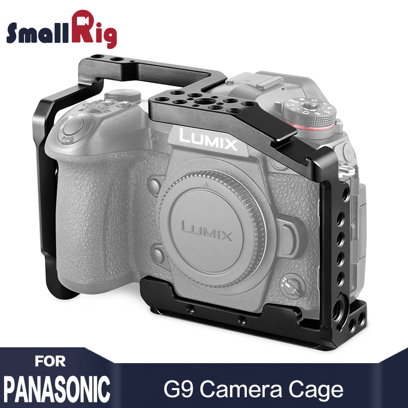 SmallRig G9 Camera Cage For Panasonic Lumix G9 Form Fitting Features An Arca Swiss Plate On The Bottom For Tripod Shooting 2125