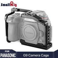 SmallRig G9 Kamera Käfig für Panasonic Lumix G9 Passende Form Merkmale eine Arca Swiss Platte auf der Unterseite für Stativ schießen 2125