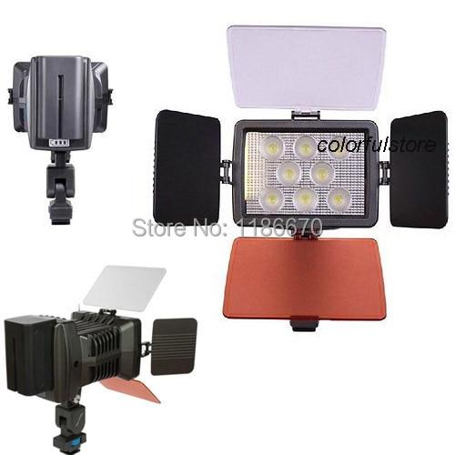 Pro 5080 8 Pcs Light Beads Super LED Video Lamp For Canon Nikon JVC Panasonic Pentax Olympus Samsung Sanyo Camcorder Cam Camera led телевизор panasonic tx 43dr300zz