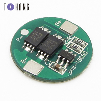 5PCS Dual MOS Battery Protection 18650 Lithium Li-ion Battery High Voltage Detection Circuit Module Board 1set lot 18650 lithium battery universal dual mos protection board 4 2v anti overcharged over discharge