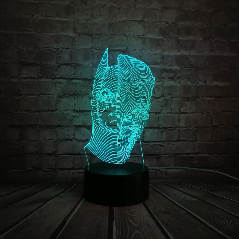 الجدة الإضاءة الكرتون الشكل 3d مصباح - أضواء الليل