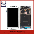 5 Pcs/lot White High Quality For Samsung Galaxy S4 i9500 LCD Touch Screen Display Digitizer With Frame By DHL