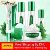 Fonce Anastatica 5 Suits Moisturizing Essence Liquid Emulsion Set Hydrating Brightening Skin Care Plant extracts Shrink pores