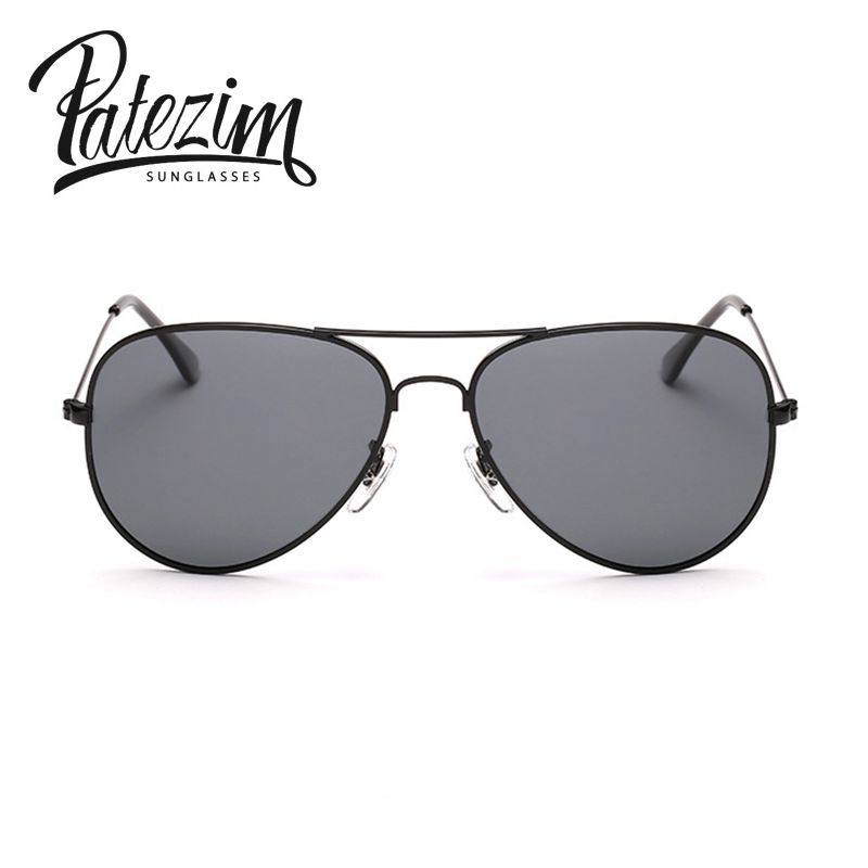a72383c4e4 2017 New Polarized Aviator Sunglasses Women Oculos Gold Silver frame  Glasses Men UV400 shades male Pilot sunglass Female Eyewear-in Sunglasses  from Apparel ...
