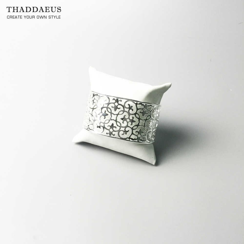 Armband Bangles Ornamenten Thomas Stijl Mode Romantische Sieraden Cadeau Voor Vrouwen, 2017 Brand Glam Goede In 925 Sterling Silver Soul