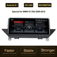10.25 inch IPS Screen Android 8.1 Car GPS Navigation for BMW X1 E84(2009 2015 Original Car with Screen or Without Screen)