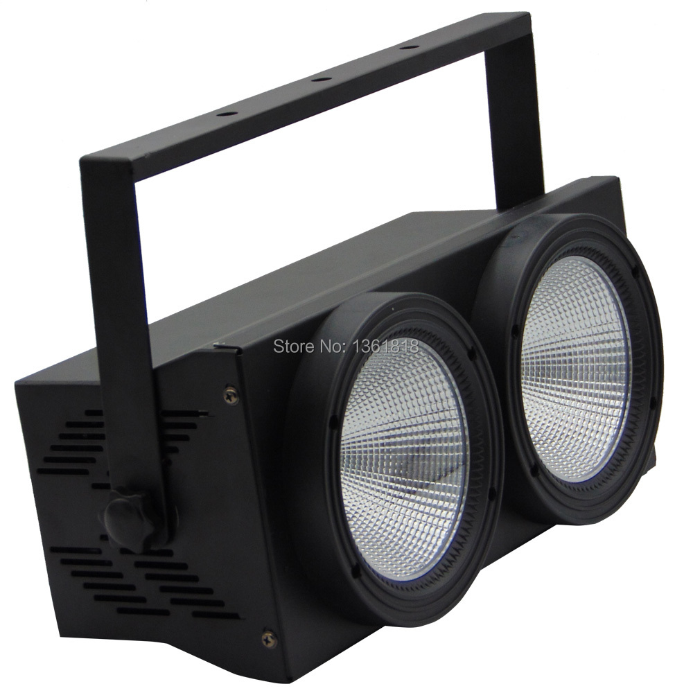 COB wash audience lights 2 eye flood lighting 2*100W Led matrix blinder light DMX par stage uplighting for show concert охватывающие наушники audio technica ath a2000z silver black