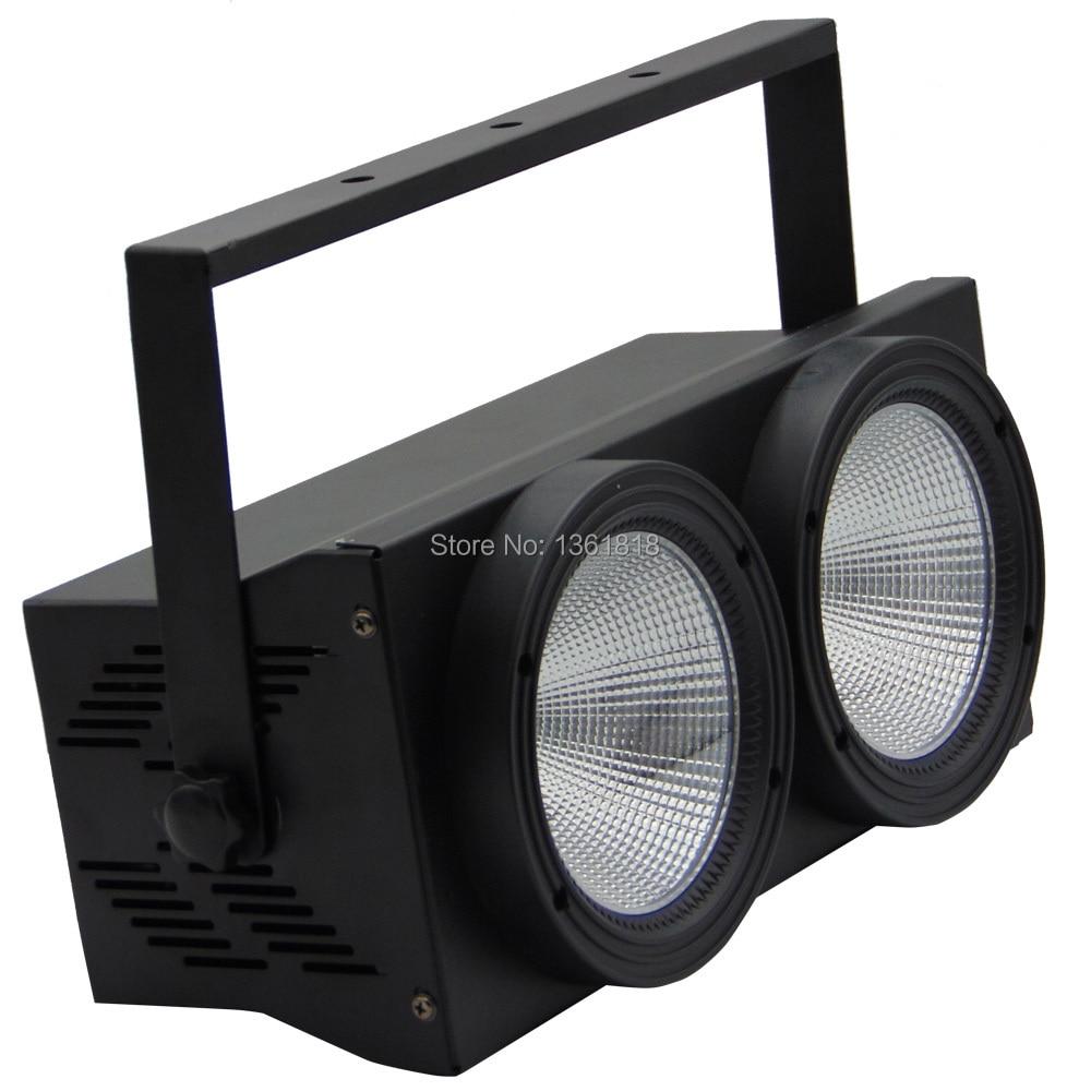 COB wash audience lights 2 eye flood lighting 2*100W Led matrix blinder light DMX par stage uplighting for show concert