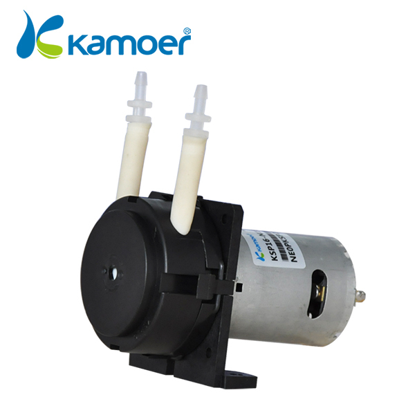 ФОТО Kamoer KSP16 12V mini  peristaltic pump  with dc motor