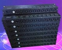 Hot koop 8 manier DMX512 signaal versterker podium licht DMX512 versterker DMX signaal distributeur podium verlichting-in Toneelbelichtingseffecten van Licht & verlichting op
