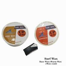 купить Natural Surfboard Base wax+Warm wax+surf wax comb surf wax for surfing sport дешево