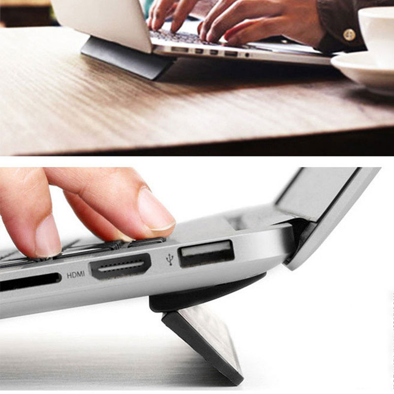 Laptop Stand For Macbook Pro air 13.3 Stand Desk Portable Adjustable Office Computer Holder PC Notebook Folding Stand Support Бороскопы