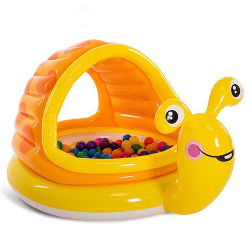 Paresseux Escargot Bébé Enfant Soleil Ombre Childs Enfants Couvert UV Pataugeoire Piscine d'eau de piscine enfants jouets #2y17