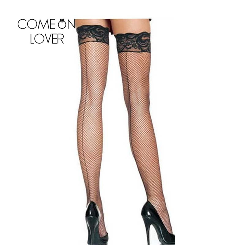 I2019 New Arrival Best Sale Knee High Socks Sexy Black -7354