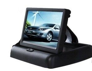 """Prix pour 4.3 """"4.3 pouce TFT LCD affichage moniteur de voiture DVD joueurs LCD moniteur Couleur De Voiture Rétroviseur Moniteur pour Voiture caméra de Recul"""