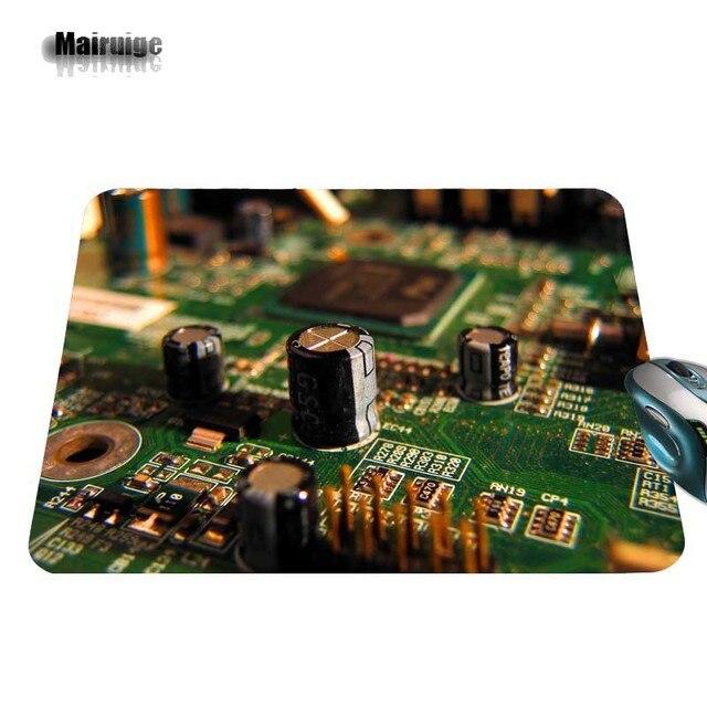 Nouvelles rétro de Circuit électronique prises en charge sur mesure vendent nouveau tapis de souris de petite taille tampon en caoutchouc antidérapant 220mm X 180mm X 2mm et 250mm x 290 m