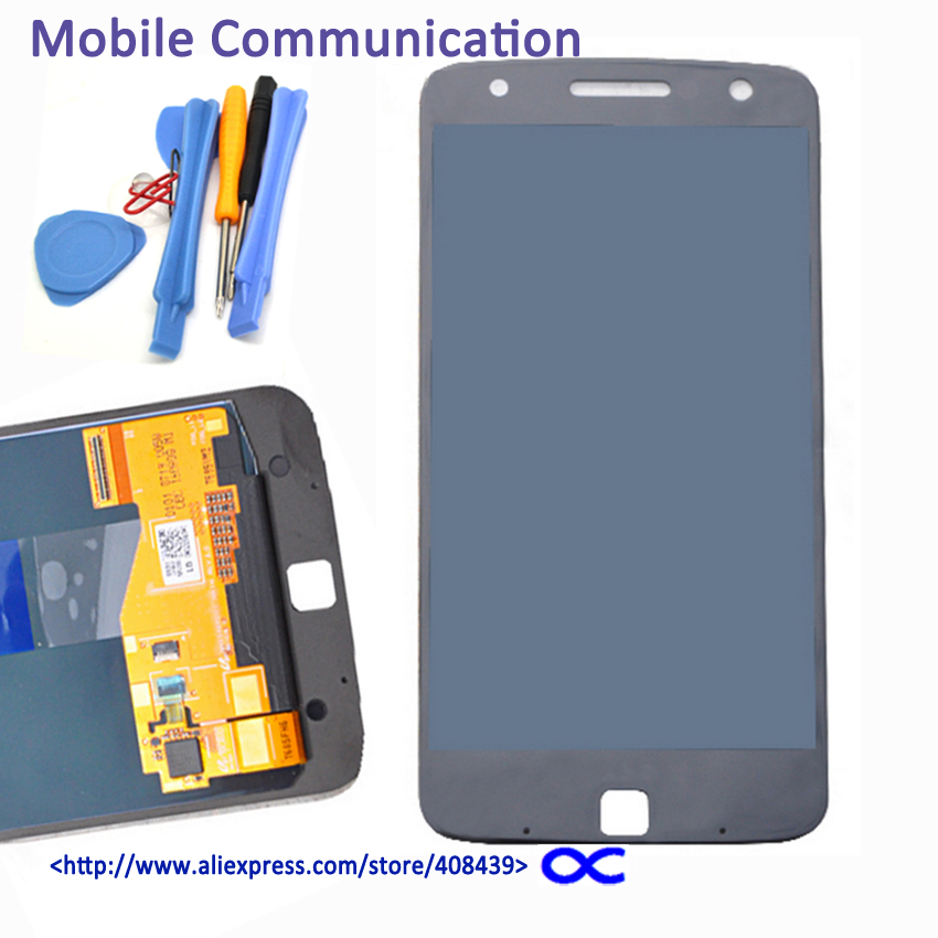 все цены на  Original LCD Touch Screen For Motorola MOTO Z Play Droid XT1635 & For Moto Z XT1650 Display Touch Panel Digitizer Assembly tools  онлайн