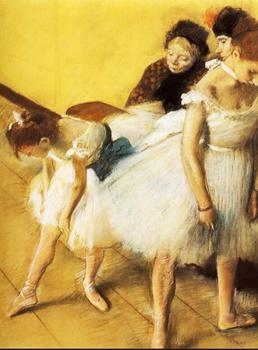 High quality Oil painting Canvas Reproductions The Dancing Examination (1880)  By Edgar Degas hand painted